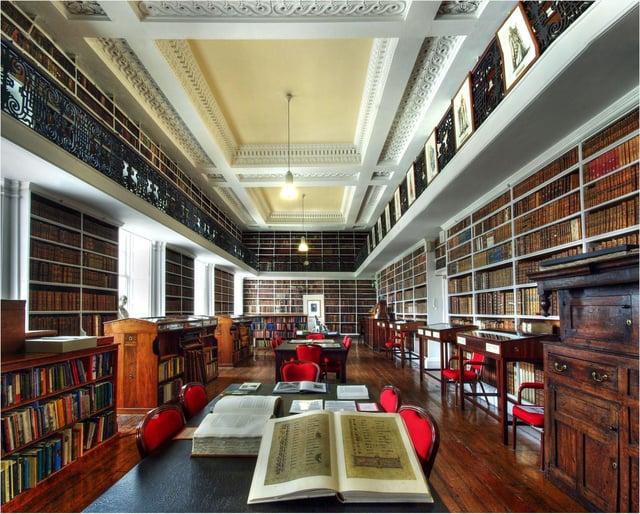 Interior of Armagh Robinson Library