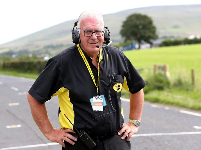 Clerk of the Course, Bill Kennedy MBE