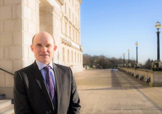Roy Beggs is the UUP's longest-serving MLA