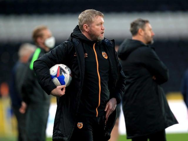 Hull City manager Grant McCann