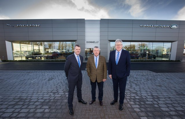 Group Managing Director, Dave Sheeran, Group Executive Chairman, Terence Donnelly and Director Raymond Donnelly