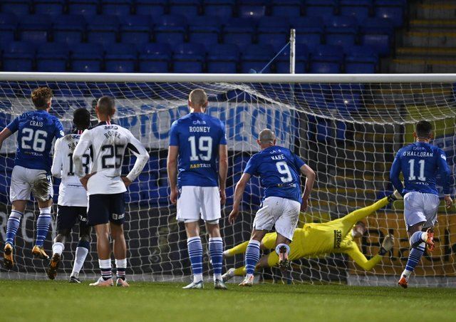 St Johnstone's Liam Craig scored a late equaliser against Rangers at McDiarmid Park.