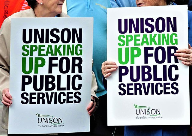 UNISON is one of the biggest trade unions in the UK, with tens of thousands of members in NI alone; it largely represents public sector workers
