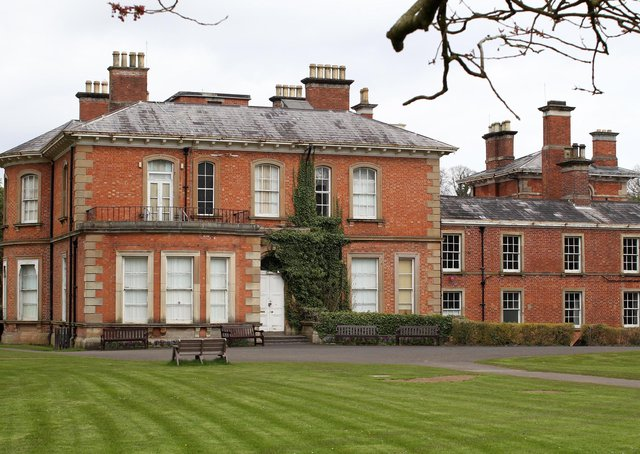 Wilmont House at Sir Thomas and Lady Dixon Park, Belfast. Picture: