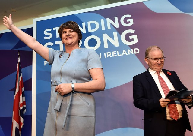 Arlene Foster has discretely sought to soften the DUP's stance on issues such as homosexuality – but her successor could be much bolder. Photo: Charles McQuillan/Getty