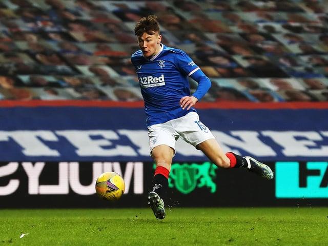 Rangers defender Nathan Patterson