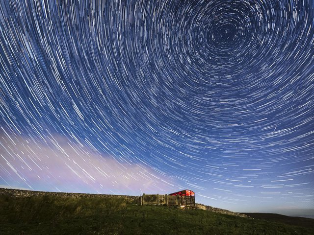 Some experts say the Lyrid Meteor Shower tends to peak on April 22.
