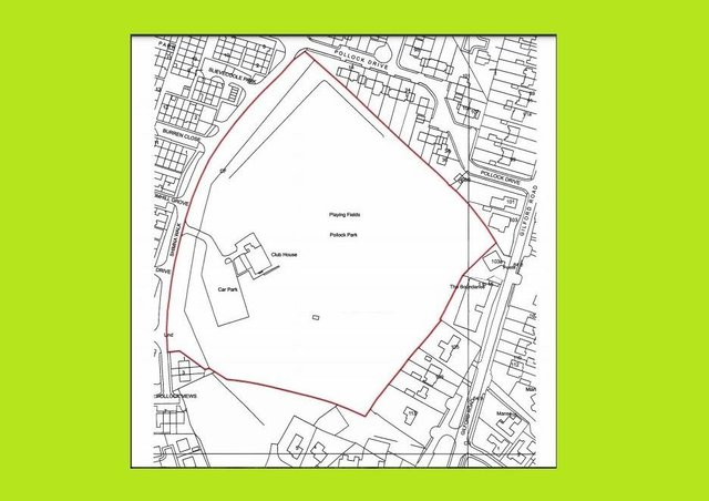 The proposed building site