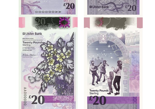 The £20 note
