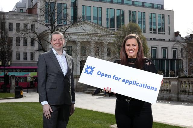 Ulster Bank's John Ferris, Regional Ecosystem Manager and Gabi Burnside, Entrepreneur Acceleration Manager