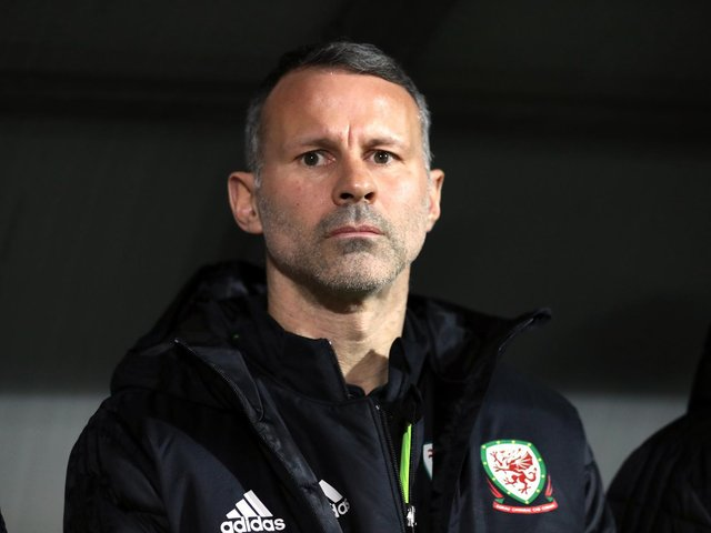 Wales football manager, Ryan Giggs.