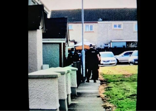 Arrests made in Lurgan.