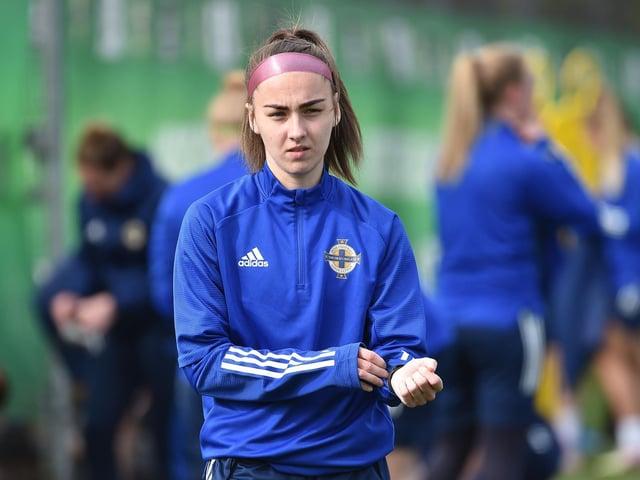 Northern Ireland international Chloe McCarron