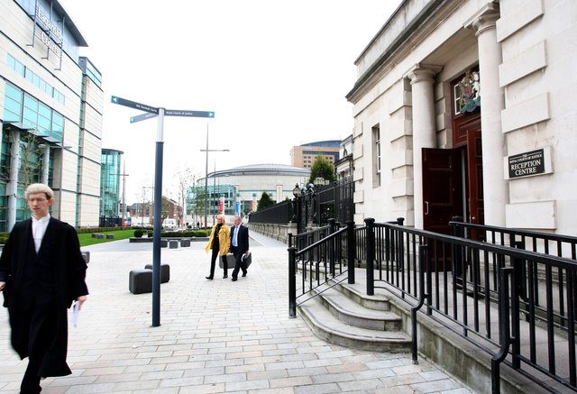 The bail hearing took place at the High Court in Belfast