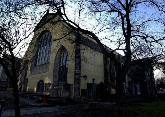 Greyfriars Kirkyard in Edinburgh