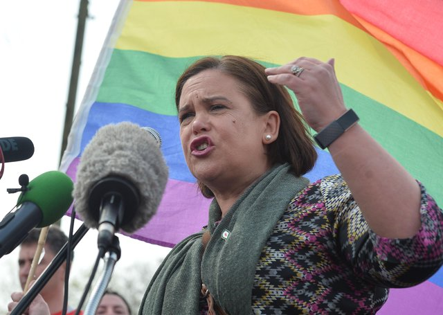 Mary Lou McDonald has a tough job, as the young progressives she courts down south have a shopping list that doesn't go down well with many of Sinn Féin's traditional supporters up north.  I doubt if gender neutral toilets and unrestricted abortion are popular in Crossmaglen