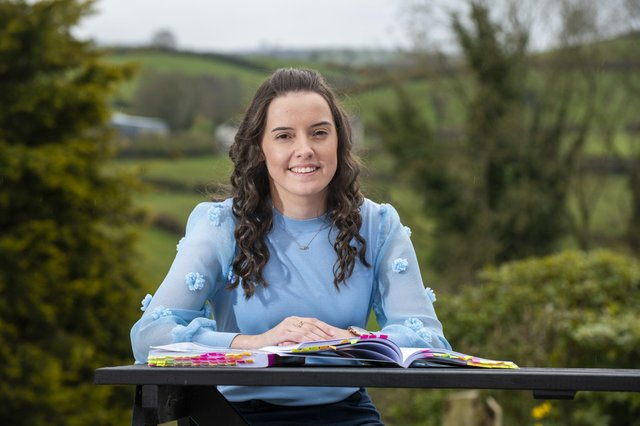 Zara Malcolmson, Rathfriland, Co Down, scored top marks on the island of Ireland as an accounting technician apprentice