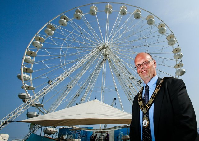 The Big Wheel will take residence in Market SquareAntrim  until 27 June