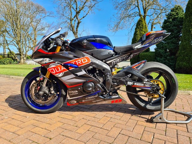 The Quattro Plant-backed Yamaha R6 Simon Reid will ride in the Pirelli National Superstock 600 Championship this season.