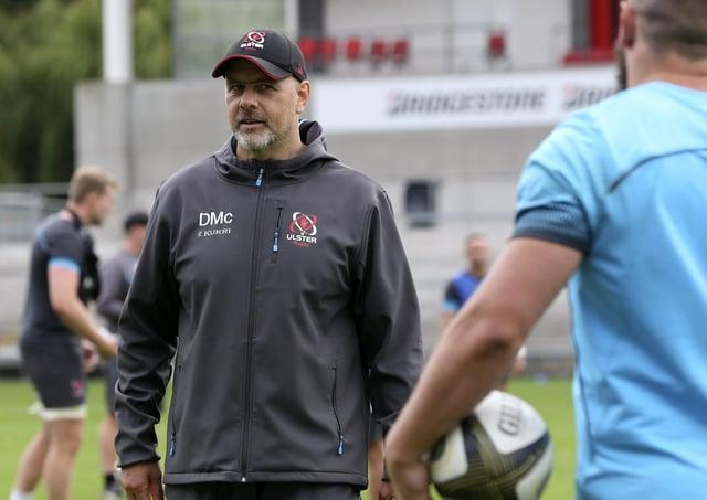 Ulster head coach Dan McFarland.