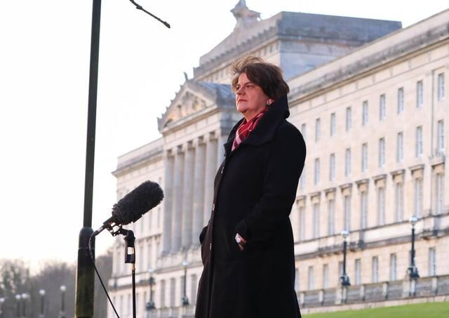 Arlene Foster has been DUP leader since 2015