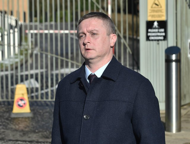 Stephen McKinney has gone on trial accused of murdering his wife