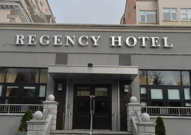 The Regency Hotel in Dublin where David Byrne was murdered in 2016. Photo Colm Lenaghan/pacemaker press