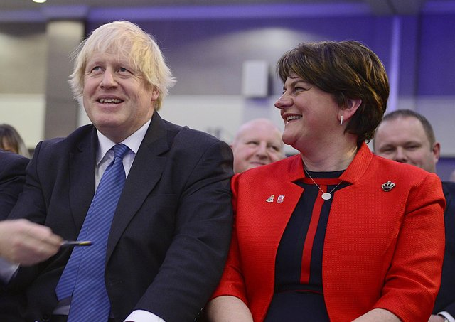 The letter calls on Nigel Dodds and Arlene Foster to resign immediately