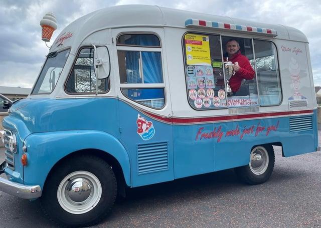 Jimmy Robinson has won Ice Cream Van of the Year 2021