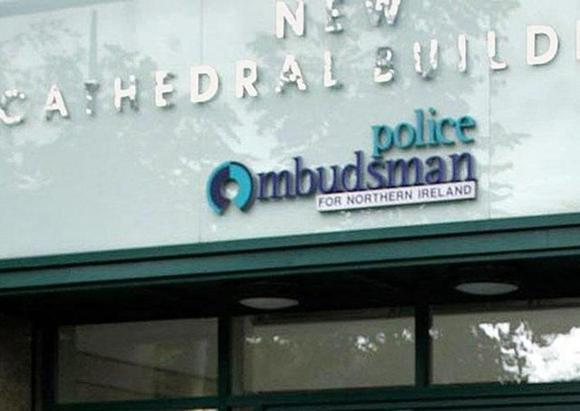 The offices of the Police Ombudsman in Belfast