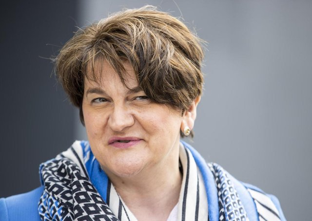 DUP leader and First Minister, Arlene Foster.