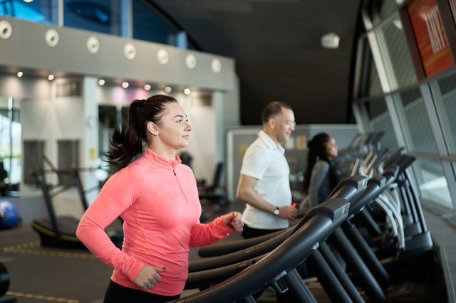 Users return to the gym at GLL's Better Leisure Centres