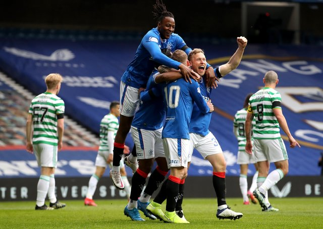 Rangers have had the upper hand over Celtic this season.