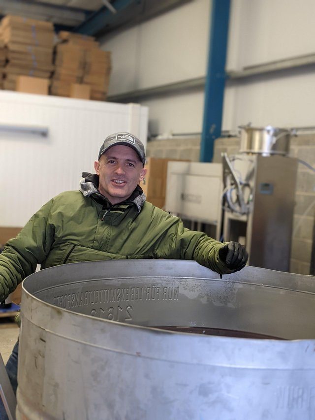Peter Barrett is founder of the Craft Tea Brew Company in Drumbo, near Belfast. He launched Northern Ireland's first commercial kombucha healthy beverage along with s sparkling tea