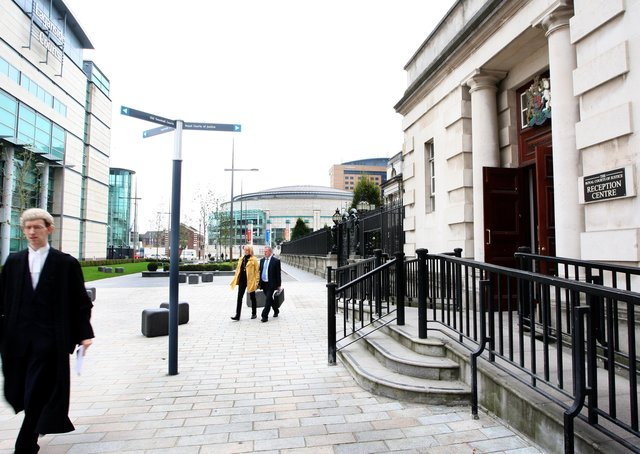 Laganside Courts and Royal Courts of Justice, Chichester Street, Belfast. Picture: Diane Magill