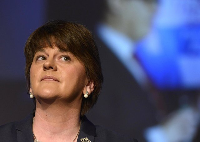 First Minister and DUP Leader Arlene Foster remains tightlipped over who she wants to see take over as leader of the DUP