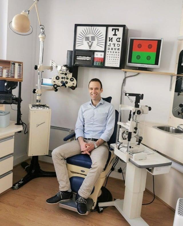 Andrew Petticrew from  Petticrew Optometrists