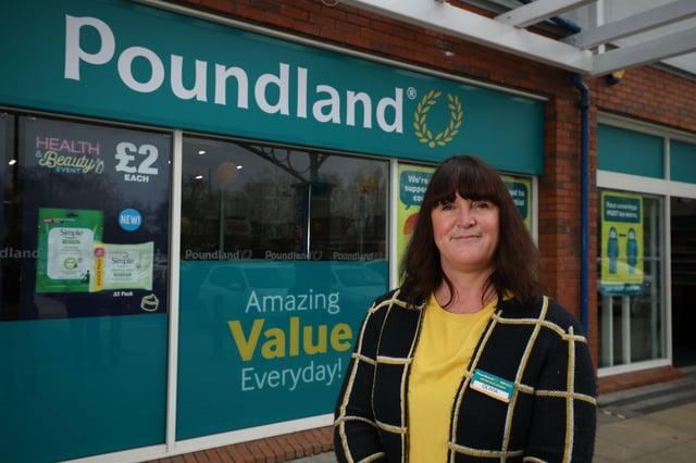 Olivia McLoughlin, Poundland Ireland retail country manager