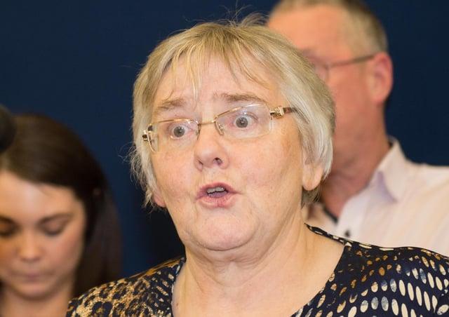 Rosemary Barton UUP MLA. Picture:Trevor Lucy / Press Eye.