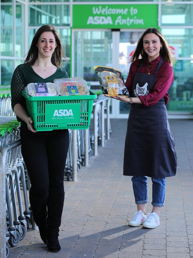 Ellen Wright, Brand Marketing at Moy Park and Emma Swan, Asda's Buying Manager for NI Local