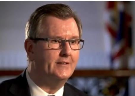 DUP MP Sir Jeffrey Donaldson was in the delegation which met Lord Frost