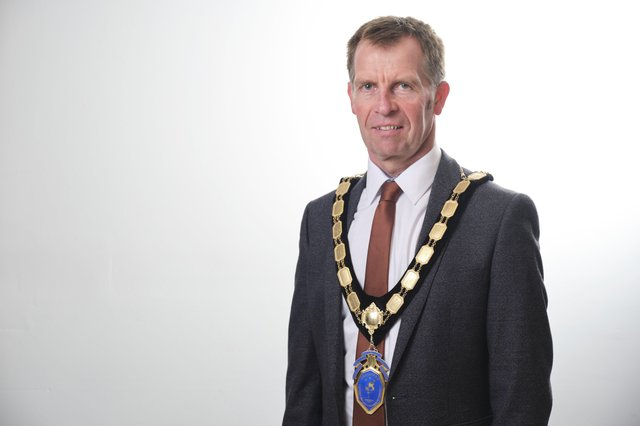 President of Northern Ireland Chamber of Commerce and Industry, Ian Henry