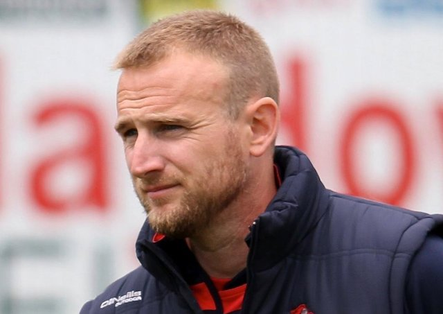 Northern Knights head coach Simon Johnston. Pic by CricketEurope.