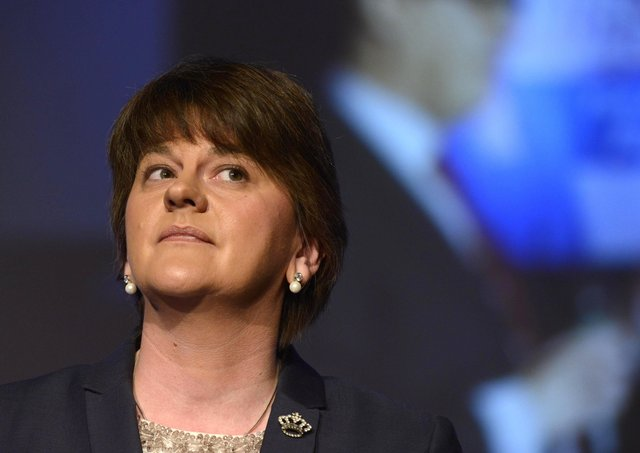 First Minister and ex-DUP leader Arlene Foster