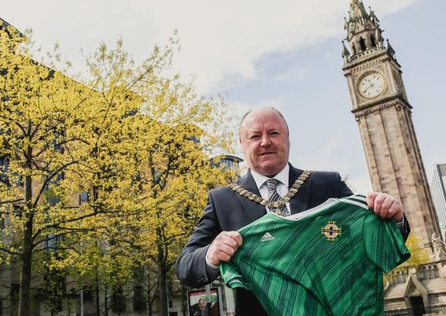 Belfast Lord Mayor Frank McCoubrey