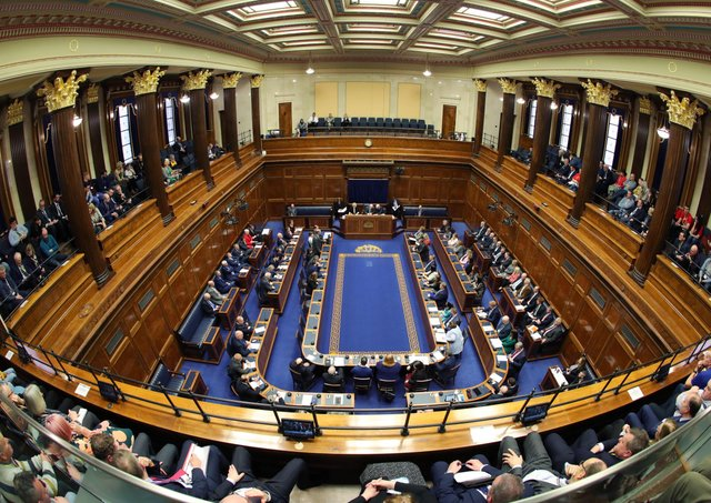 Translating MLAs' Irish or Ulster Scots will come with a hefty bill. Photo: Kelvin Boyes/ Pool/Getty
