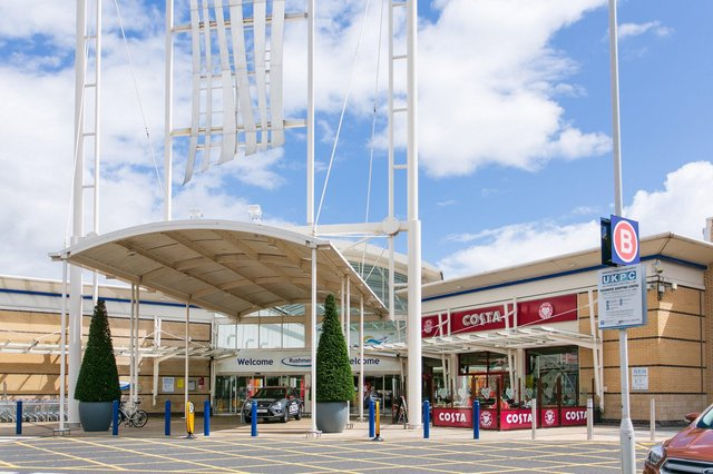 Rushmere Shopping Centre and Retail Park