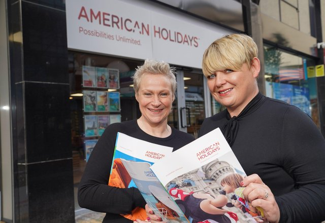 Karen Sheals Hoy, Manager and Astrid Bell, Cruise Product Manager