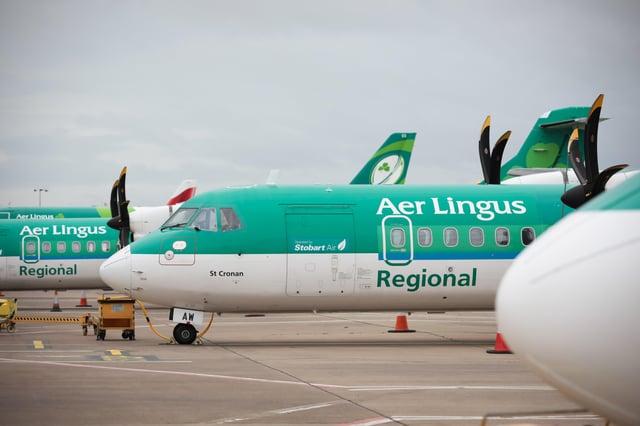 Aer Lingus Regional at Belfast City Airport