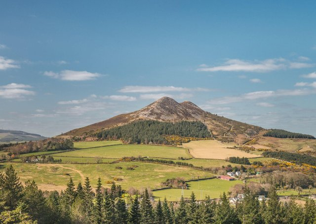 Little Sugar Loaf in the Wicklow Moutains.